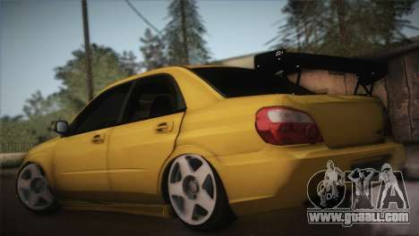 Subaru Impreza WRX STI JDM Style 2015 for GTA San Andreas left view