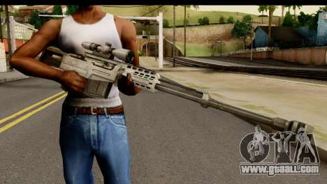 Accuracy International AS50 .50 BMG for GTA San Andreas third screenshot