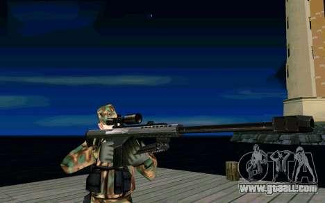 Barret M107 for GTA San Andreas second screenshot