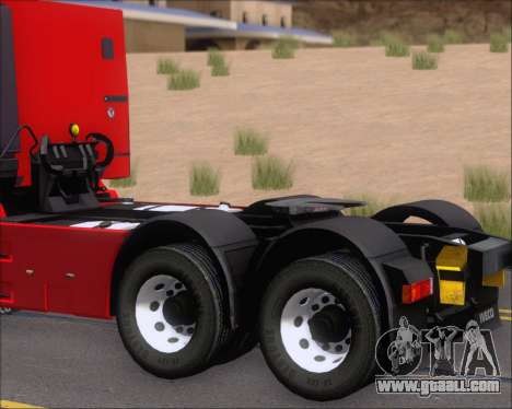 Iveco Stralis HiWay 6x4 for GTA San Andreas inner view