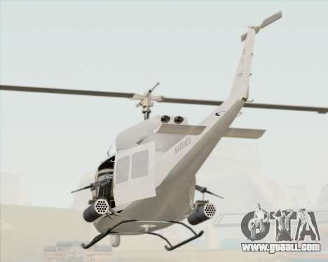 Bell UH-1N Huey USMC for GTA San Andreas side view