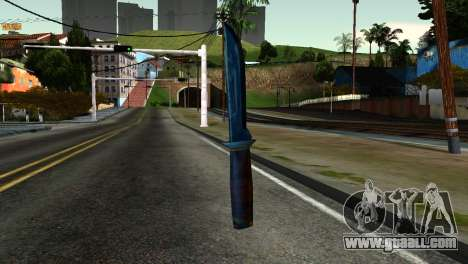 Knife from Kuma War for GTA San Andreas second screenshot