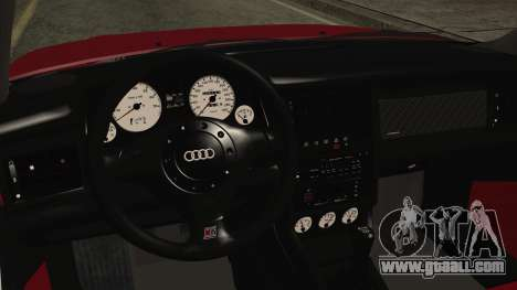 Audi RS2 Coupe for GTA San Andreas right view