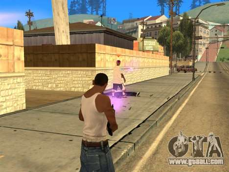 Fagot Funny Effects 1.1 for GTA San Andreas second screenshot