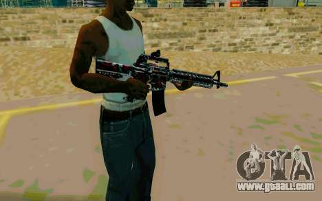 M4A1 (Looney) for GTA San Andreas