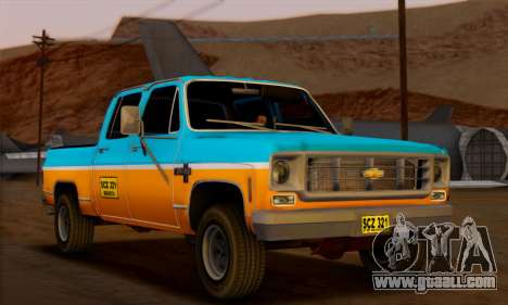 Chevrolet Custom Deluxe for GTA San Andreas