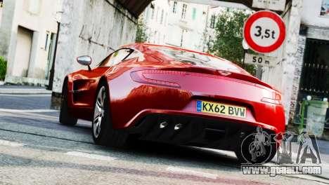 Aston Martin One-77 2010 [EPM] for GTA 4 left view