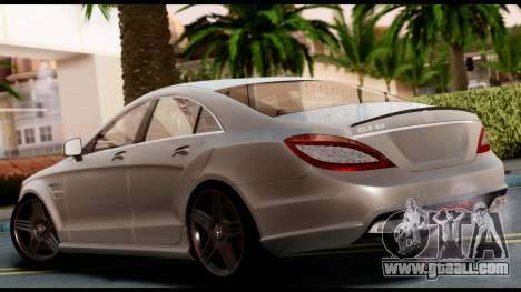 Mercedes-Benz CLS 63 AMG 2010 for GTA San Andreas left view