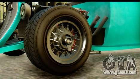 GTA 5 Hotknife GT for GTA San Andreas back left view