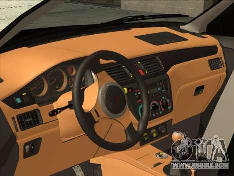 Mitsubishi Outlander for GTA San Andreas back view