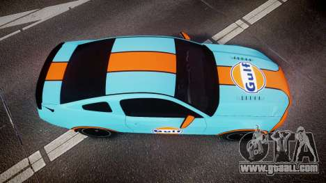 Ford Mustang Boss 302 2013 Gulf for GTA 4 right view