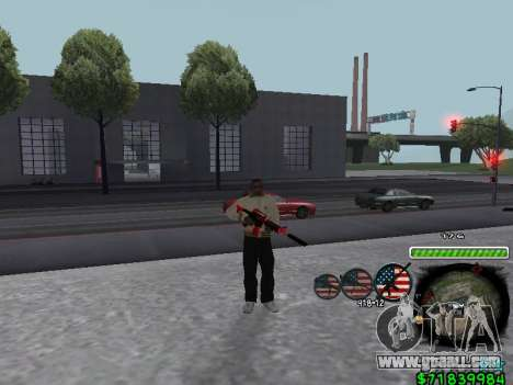 C-HUD for Ghetto for GTA San Andreas second screenshot