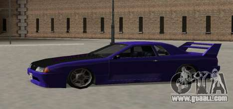 Luni Elegy for GTA San Andreas upper view