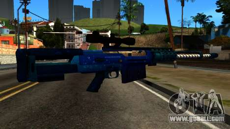 New Year Sniper Rifle for GTA San Andreas second screenshot