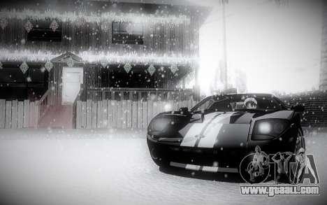 Winter 2.0 ENBSeries for GTA San Andreas third screenshot