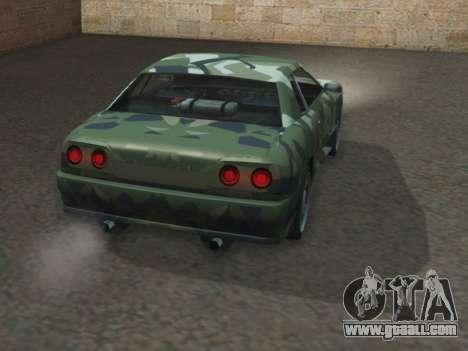 Elegy GTR for GTA San Andreas back left view
