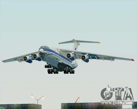 IL-76TD Gazprom Avia for GTA San Andreas back view