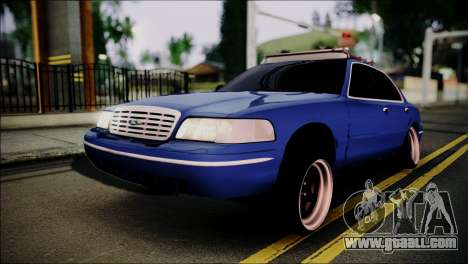 Ford Crown Victoria Stance Nation for GTA San Andreas