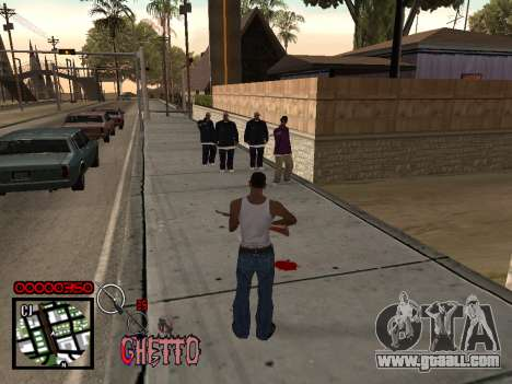 C-HUD by Jones for GTA San Andreas third screenshot