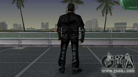 Tommi Black Skin for GTA Vice City forth screenshot