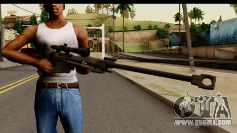 Sinons PGM Ultima Ratio Hecate II for GTA San Andreas third screenshot
