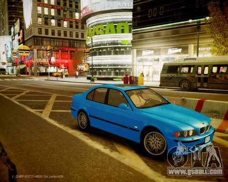 BMW M5 E39 for GTA 4 left view