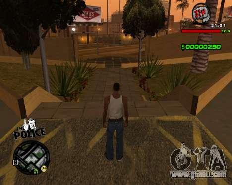 C-HUD by Jim for GTA San Andreas third screenshot