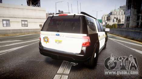 Ford Expedition 2010 Sheriff [ELS] for GTA 4