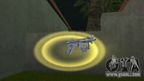Mp5 Short for GTA Vice City second screenshot