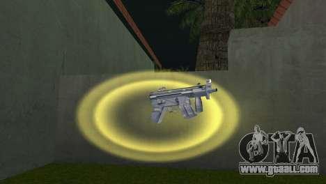 Mp5 Short for GTA Vice City second screenshot