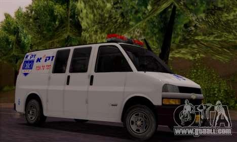 Chevrolet Exspress Ambulance for GTA San Andreas