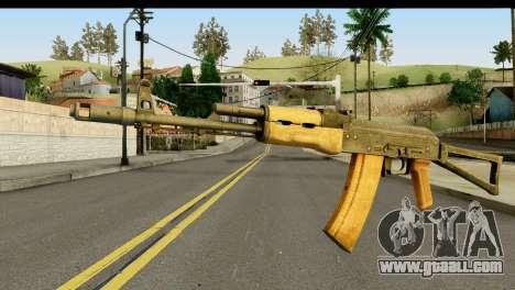 AKS-74 Light Wood for GTA San Andreas