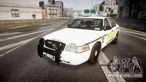 Ford Crown Victoria Police Alderney [ELS] for GTA 4