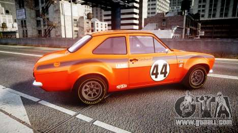 Ford Escort RS1600 PJ44 for GTA 4 left view