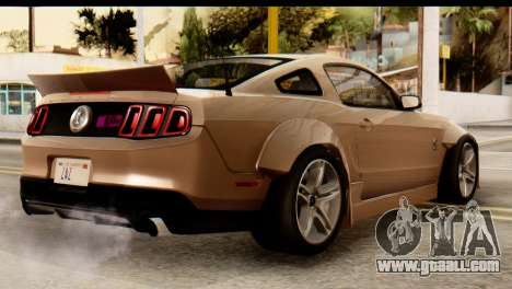 Ford Shelby GT500 RocketBunny for GTA San Andreas left view