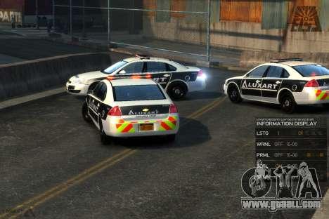Emergency Lights System v8 [ELS] for GTA 4 second screenshot