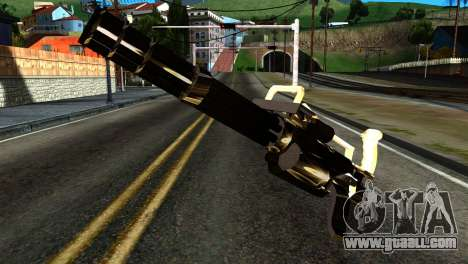 New Minigun for GTA San Andreas