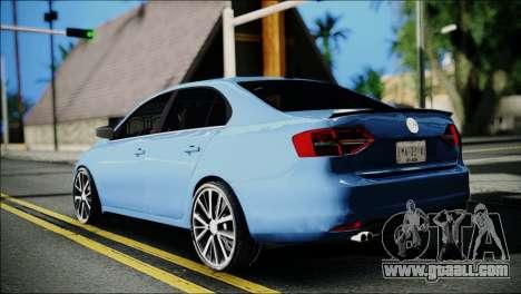 Volkswagen Jetta 2015 for GTA San Andreas left view