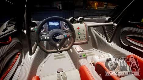 Pagani Zonda Revolution 2013 for GTA 4 side view