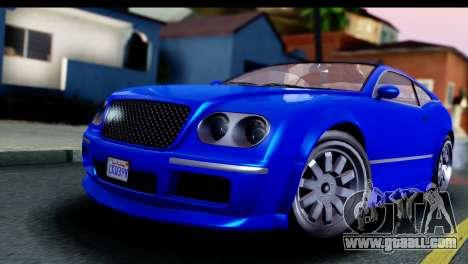 GTA 5 Enus Cognoscenti Cabrio for GTA San Andreas right view