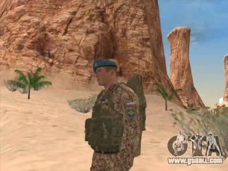Grenadier of the airborne troops of the Russian for GTA San Andreas forth screenshot
