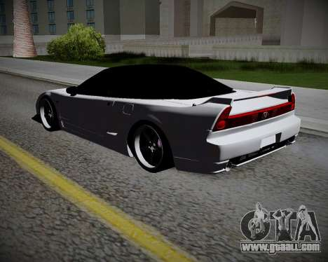 Honda NSX 2015 for GTA San Andreas left view