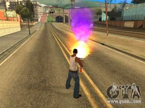 Fagot Funny Effects 1.1 for GTA San Andreas third screenshot