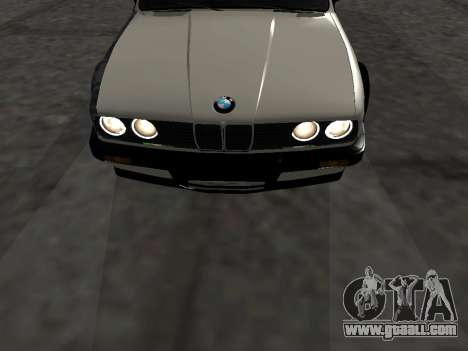 BMW M3 E30 Drift for GTA San Andreas inner view
