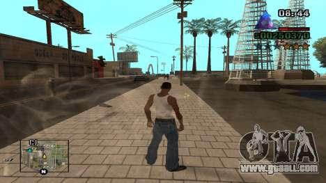 C-HUD By.Kidd for GTA San Andreas