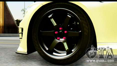BMW M3 GTS Tuned v1 for GTA San Andreas back left view