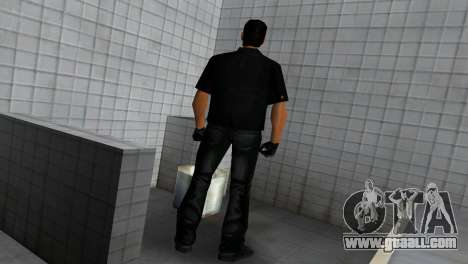 Tommy In Black for GTA Vice City fifth screenshot