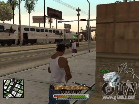 C-HUD для Army for GTA San Andreas third screenshot