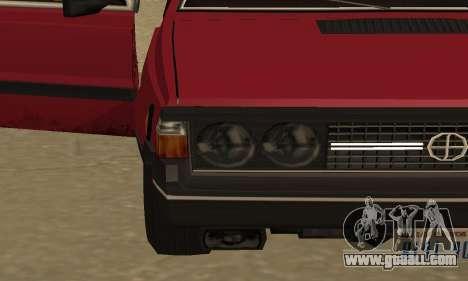 FSO Polonez 1500 for GTA San Andreas interior