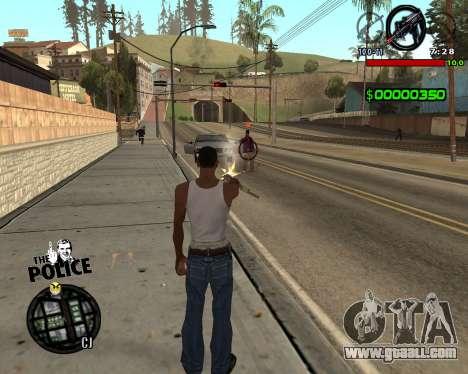C-HUD by Jim for GTA San Andreas second screenshot